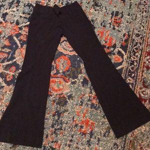 Juniors Sz 3, Bootcut Navy Dress Pants